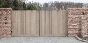 houten tuinpoort
